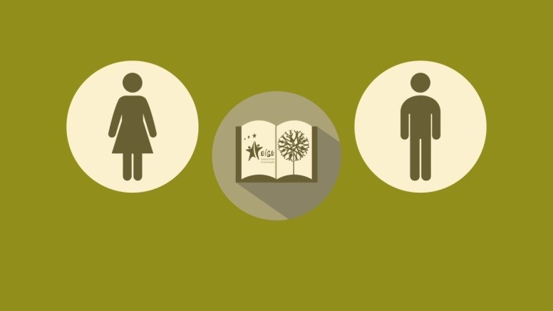 image of women and men and books