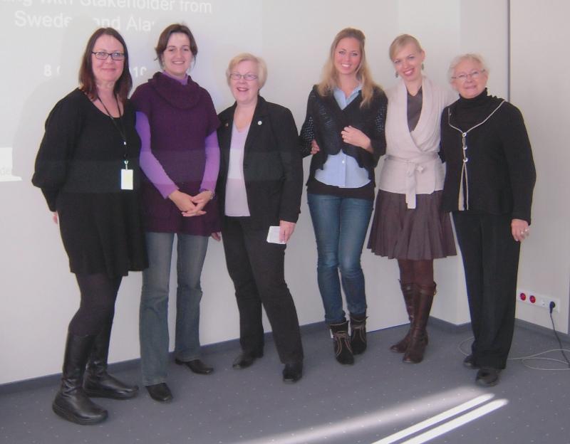 Swedish NGOs visit EIGE