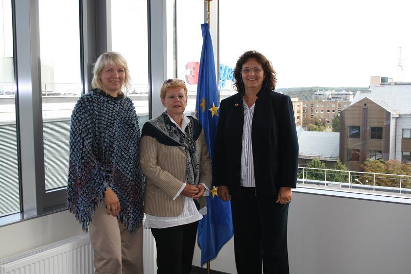 Jurgita Pečiūrienė, Metka Roksandic, Barbara Wurster