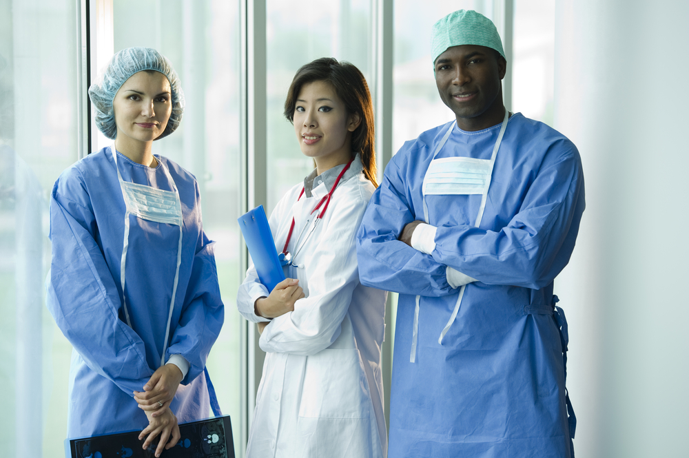 Stefanolunardi, Doctor and Nurses, Shutterstock