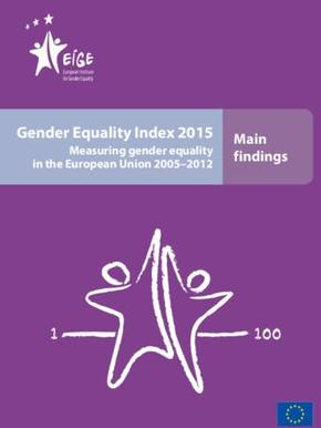 Gender Equality Index 2015: Measuring gender equality in the European Union 2005–2012 - Main findings