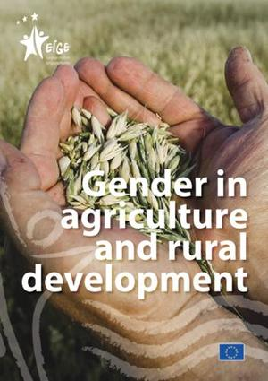Gender in agriculture and rural development