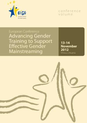 Gender Training   Conference volume