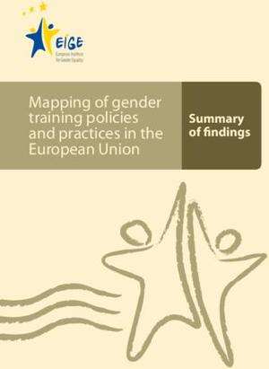 Mapping of gender training policies and practices in the European Union: Summary of findings