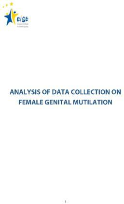 Analysis of data collection on female genital mutilation