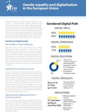 Gender equality and digitalisation in the European Union