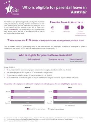 Who is eligible for parental leave in Austria?
