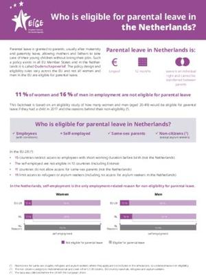 Who is eligible for parental leave in the Netherlands?