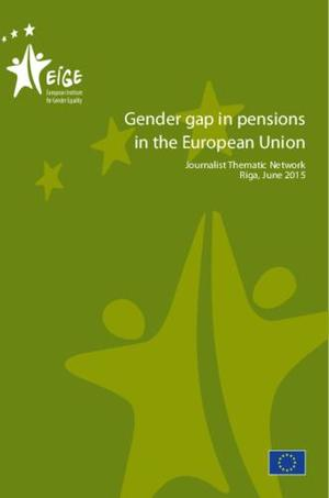 Articles on gender gap in pensions in the European Union