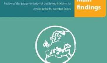Gender Equality in Power and Decision-Making - Review of the Implementation of the Beijing Platform for Action in the EU Member