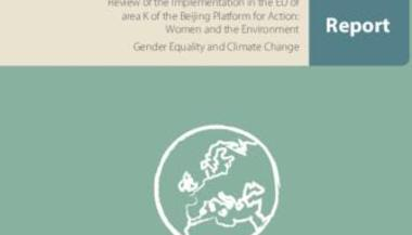 Gender Equality and Climate Change Report