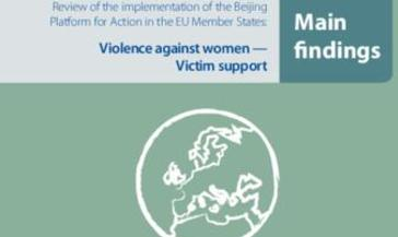 Violence against women Victim support: Main Findings
