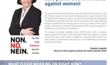 EIGE Newsletter: Special Edition on Violence against Women