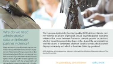 Data collection on intimate partner violence by the police and justice sectors: Luxembourg