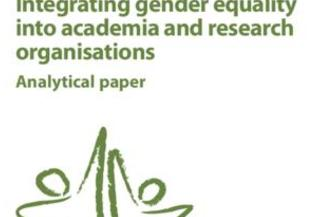Integrating gender equality into academia and research organisations