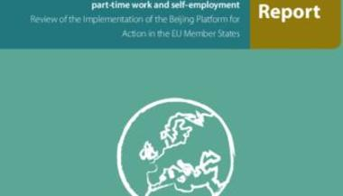 Gender equality and economic independence: part-time work and self-employment: Report