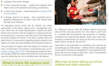 Advancing work–life balance with the EU Funds